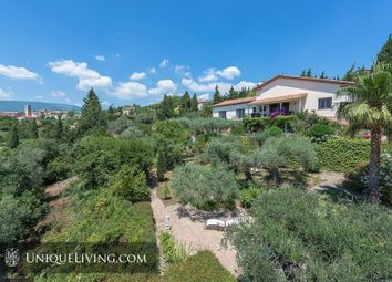 Thumbnail 4 bed villa for sale in Grasse, French Riviera, France