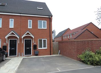 Thumbnail 3 bed end terrace house for sale in Upton Drive, Burton-On-Trent