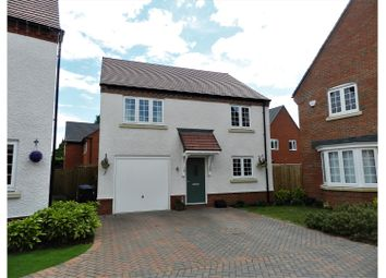 Thumbnail 4 bed detached house for sale in Wilcox Close, Coventry