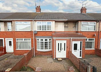 Thumbnail 2 bedroom terraced house for sale in Wharfedale Avenue, Hull