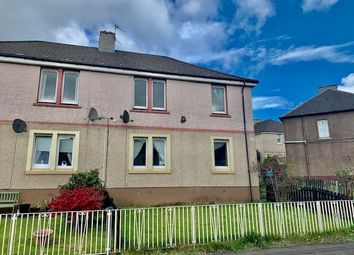 Thumbnail 1 bed flat for sale in Bent Crescent, Uddingston, Glasgow