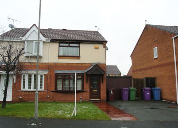 Thumbnail 2 bedroom semi-detached house for sale in Coulport Close, Dovecot, Liverpool