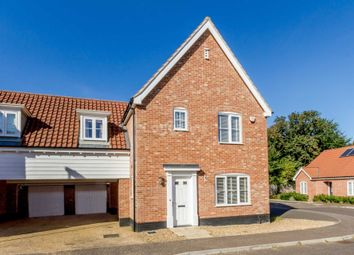 Thumbnail 3 bed link-detached house for sale in Woodward Avenue, Necton, Swaffham