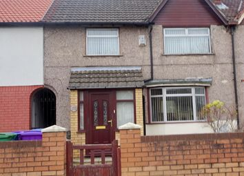 Thumbnail 3 bed terraced house for sale in Stanley Park Avenue North, Liverpool, Mersyside