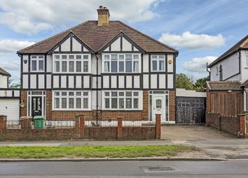 Thumbnail 3 bed semi-detached house for sale in Manor Road North, Wallington, Surrey