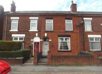 Thumbnail 4 bed terraced house for sale in Bank Street, Golborne, Warrington