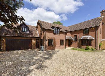 Thumbnail 5 bed detached house to rent in Putlowes Drive, Fleet Marston, Aylesbury, Buckinghamshire