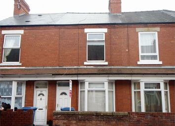Thumbnail 2 bed terraced house for sale in Central Avenue, Worksop, Nottinghamshire