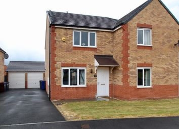 Thumbnail 2 bed semi-detached house for sale in Priory Park Close, Barnsley