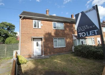 Thumbnail 3 bed semi-detached house to rent in Rottingdene Drive, Manchester