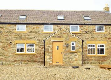 Thumbnail 3 bed barn conversion to rent in East Holywell, Newcastle Upon Tyne