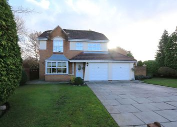 Thumbnail 5 bed detached house for sale in Barbondale Close, Warrington, Cheshire