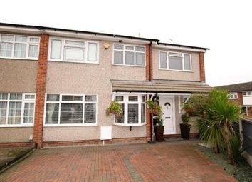 Thumbnail 4 bedroom end terrace house for sale in Collier Row, Romford, Essex