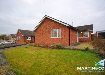 Thumbnail 3 bed detached bungalow for sale in Clematis Close, Branston, Lincoln