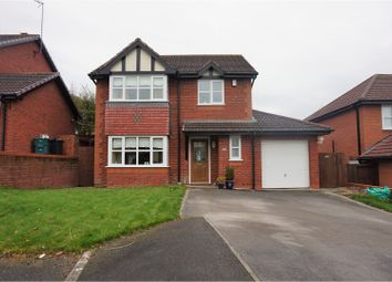 Thumbnail 4 bed detached house for sale in Foxhall Close, Colwyn Bay