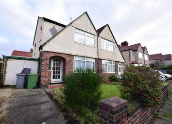 Thumbnail 3 bed semi-detached house for sale in Lynton Road, Wallasey, Merseyside