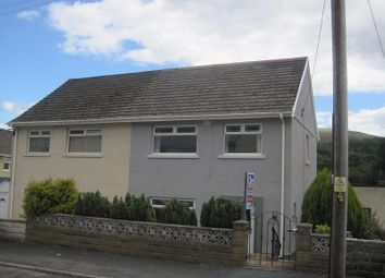 Thumbnail 3 bed semi-detached house for sale in Tanygarth, Abercrave, Swansea.