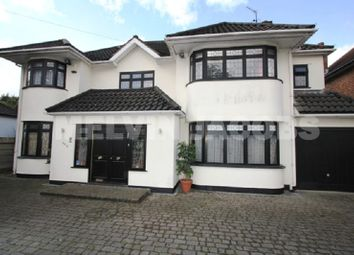 Thumbnail 7 bed detached house to rent in Edgwarebury Lane, Edgware, Greater London.