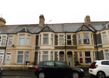 Thumbnail 4 bed terraced house for sale in Monthermer Road, Cathays, Cardiff