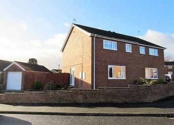 Thumbnail 3 bed semi-detached house to rent in Southfield Drive, Louth