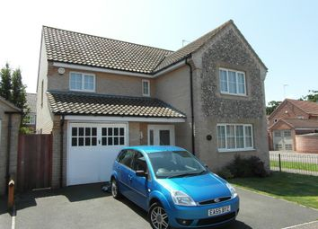 Thumbnail 4 bedroom detached house to rent in Field Grange, Lowestoft