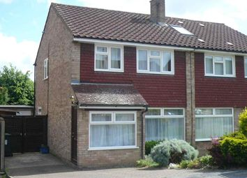Thumbnail 3 bed semi-detached house to rent in Spring Crofts, Bushey