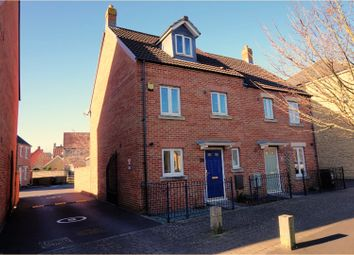 Thumbnail 4 bed semi-detached house for sale in Carousel Lane, Weston-Super-Mare