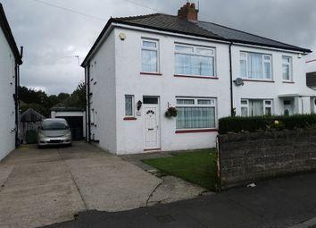 Thumbnail 3 bed semi-detached house for sale in Linden Grove, Rumney, Cardiff