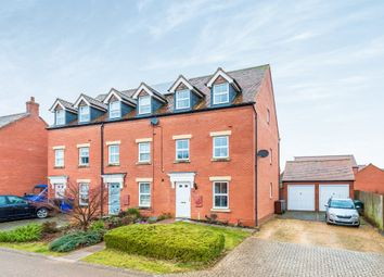 Thumbnail 3 bed end terrace house for sale in Meadowsweet Way, Banbury