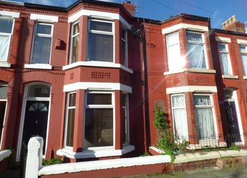 Thumbnail 3 bed terraced house for sale in Molyneux Road, Waterloo, Liverpool, Merseyside
