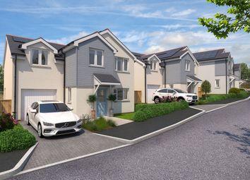 Thumbnail 4 bed detached house for sale in Cross Roads, Lewdown, Okehampton