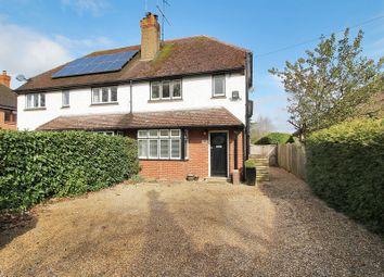 Thumbnail 3 bed semi-detached house for sale in Crawley Down Road, Felbridge, Surrey