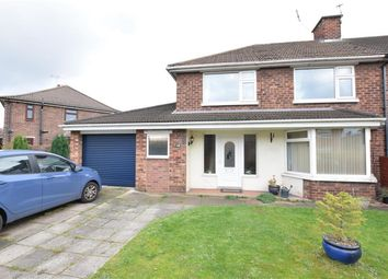 Thumbnail 3 bed end terrace house for sale in Franklin Crescent, Scunthorpe