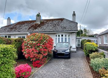 Thumbnail 2 bed bungalow for sale in Woodland Road, St Austell, Cornwall