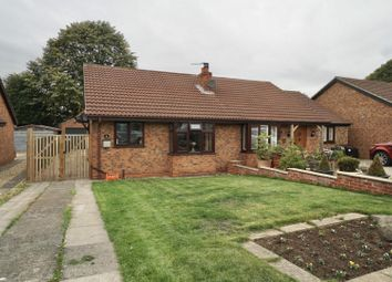 Thumbnail 2 bed semi-detached bungalow for sale in School Garth, Sowerby, Thirsk