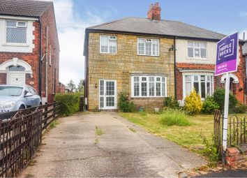 Thumbnail 4 bed semi-detached house for sale in West End Road, Habrough, Immingham