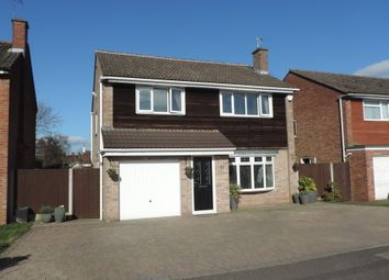 Thumbnail 4 bed detached house for sale in Clevedon Avenue, Stafford