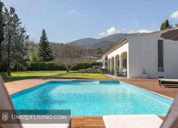 Thumbnail 6 bed villa for sale in Chateauneuf De Grasse, Grasse, French Riviera