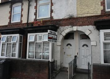 Thumbnail 2 bed terraced house for sale in Grasmere Road, Handsworth, Birmingham