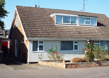 Thumbnail 2 bed semi-detached house for sale in Priory Road, Wollaston, Northamptonshire
