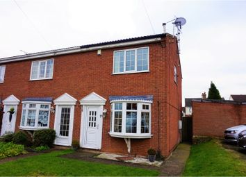Thumbnail 2 bed town house for sale in Redgate Street, Mansfield