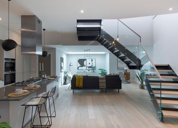 Thumbnail 3 bed town house for sale in Stormont Road, London