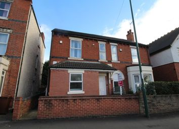 Thumbnail 1 bed flat for sale in Highbury Road, Bulwell, Nottingham