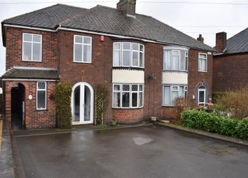 Thumbnail 4 bedroom semi-detached house for sale in Burton Road, Midway, Swadlincote