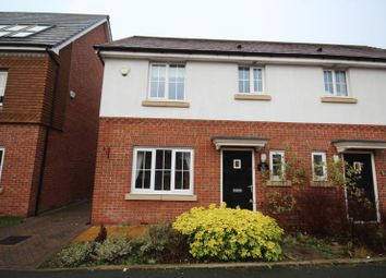 Thumbnail 3 bed semi-detached house for sale in Shuttle Drive, Heywood