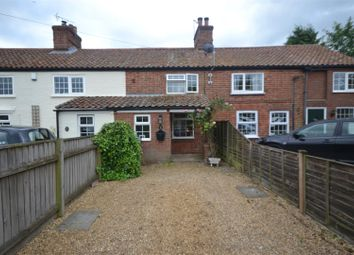 Thumbnail 2 bedroom terraced house for sale in Hainford, Norwich