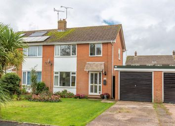 Thumbnail 3 bed semi-detached house for sale in Cherry Close, Cheriton Fitzpaine, Crediton