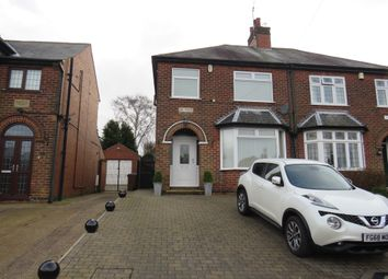 3 bed semi-detached house for sale in Cranmer Grove, Mansfield NG19