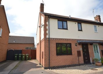 Thumbnail 3 bed semi-detached house for sale in Thornhills Grove, Narborough, Leicester