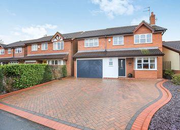 Thumbnail 4 bedroom detached house for sale in Leasowe Drive, Perton, Wolverhampton
